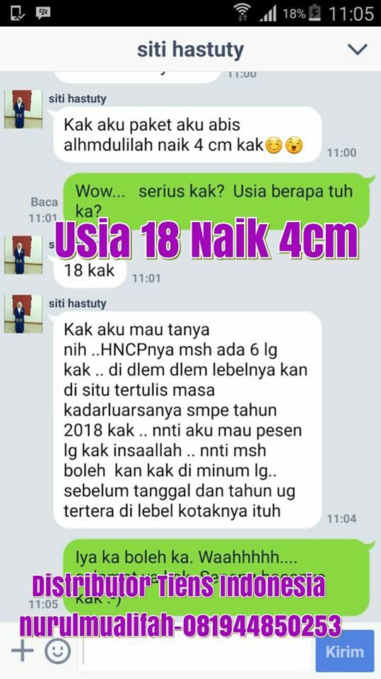 testimoni peninggi badan tiens malaysia