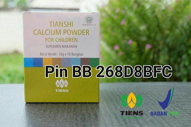 Produk Peninggi Badan Tiens Tianshi Nutrient Calcium Powder