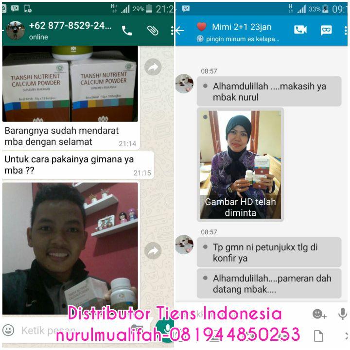 Agen Distributor Resmi Tiens Cabang Di Kota Medan