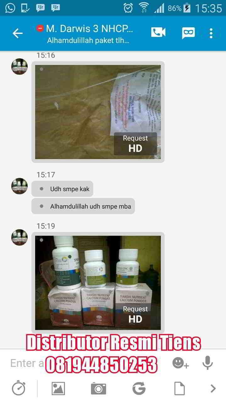 Agen Distributor Resmi Tiens Cabang di Kota Bandung