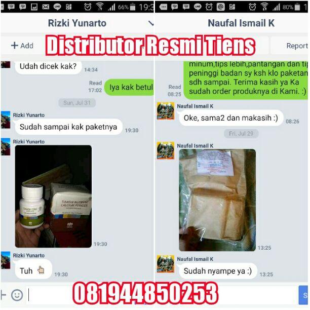 Agen Distributor Resmi Tiens Cabang di Kota Tangerang