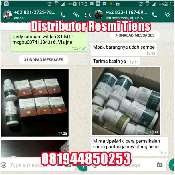 Agen Distributor Resmi Tiens Cabang di Kota Aceh