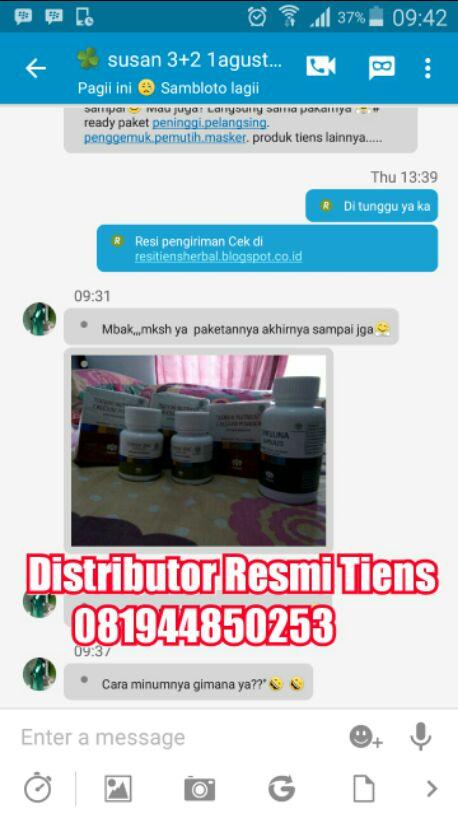 Agen Distributor Resmi Tiens Cabang di Kota Gorontalo