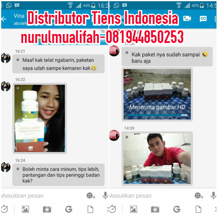 Jual Vitamin Peninggi Badan Herbal