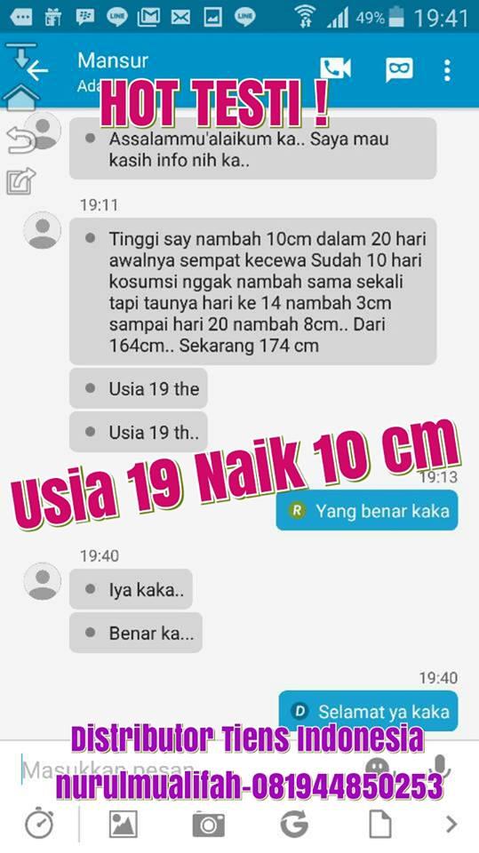 Harga Tiens Peninggi Badan Di Semarang