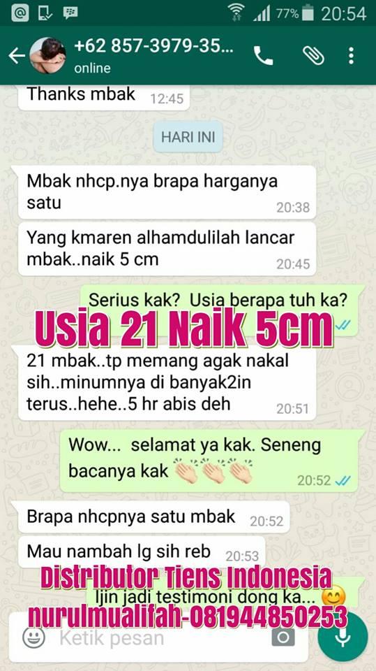 Jual Obat Peninggi Badan Tiens di Semarang
