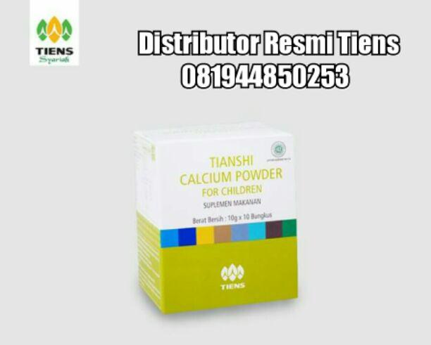 Komposisi Tianshi Nutrient Calcium Powder