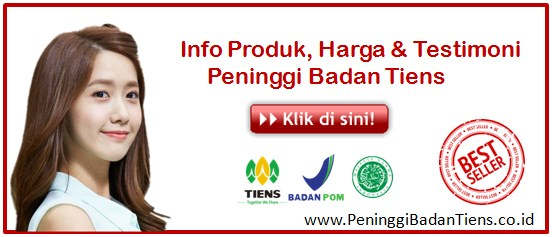 Paket Peninggi Badan Tiens NHCP Junior