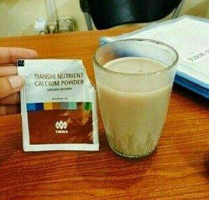 Review apa itu Tianshi Nutrient Calcium Powder dengan manfaat & fungsinya