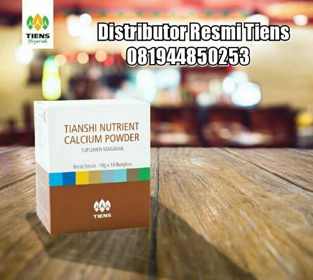 Review apa itu Tianshi Nutrient Calcium Powder dengan manfaat