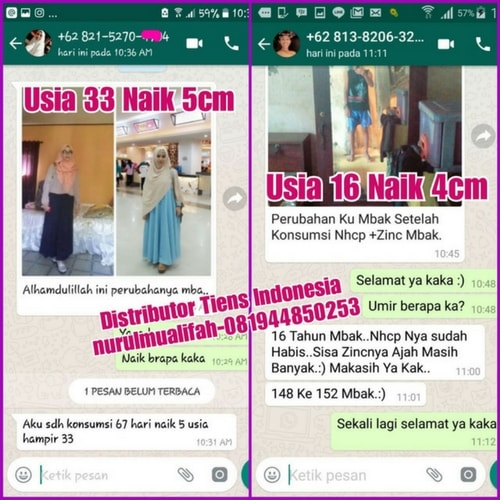 testimoni tianshi nutrient calcium powder
