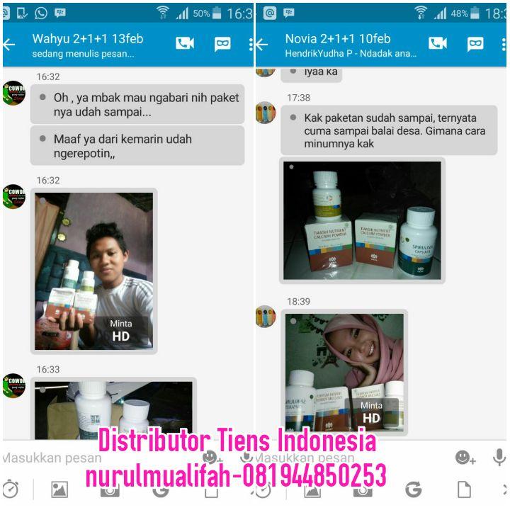 Jual Obat Peninggi Badan Tiens NHCP di Bengkulu