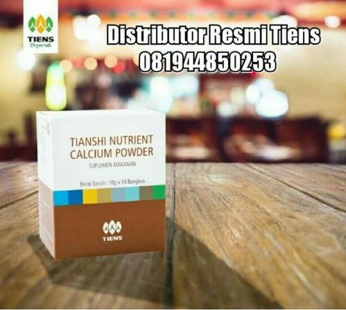 Manfaat Kalsium Nutrient Calcium Powder Zinc Tiens
