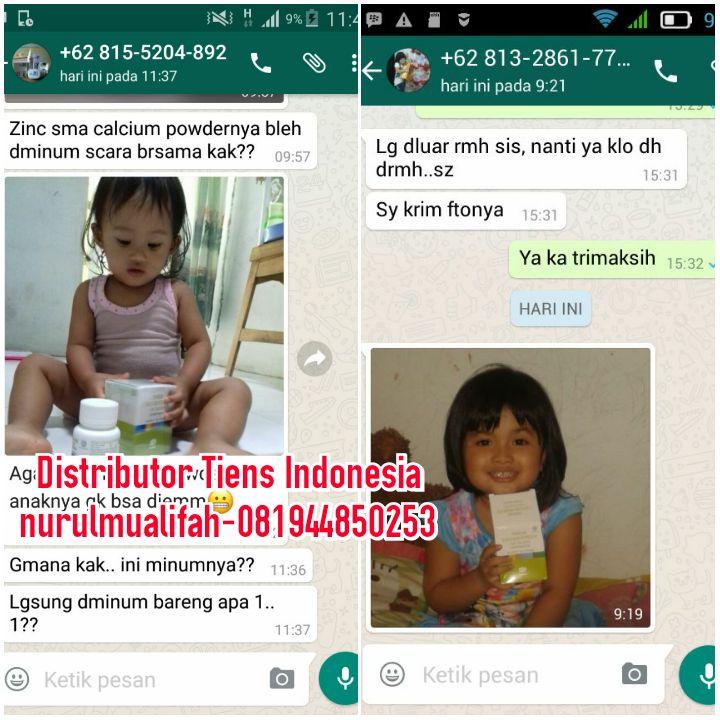 Distributor Resmi Jual NHCP dan Zinc Tiens