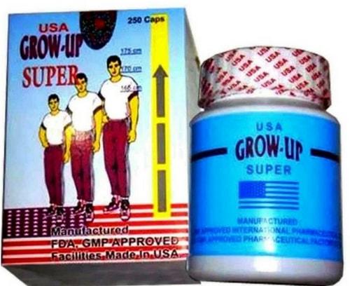 info review tentang obat peninggi badan grow up super use yang asli original
