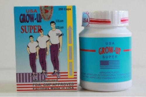 review penjelasan tentang produk suplemen peninggi badan grow up use pills