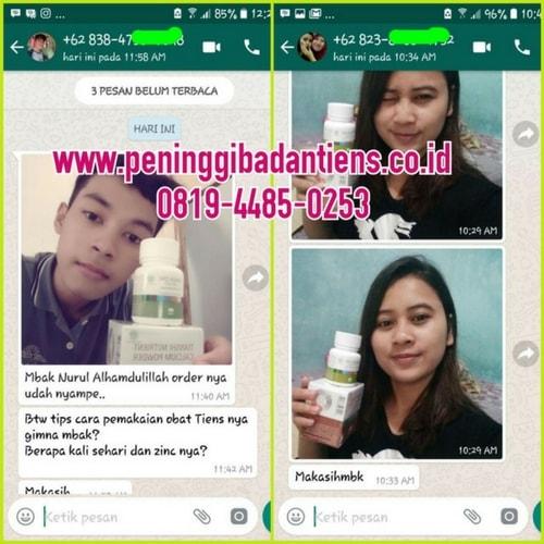 ciri-ciri iklan info obat peninggi badan tiens dan bohong penipuan
