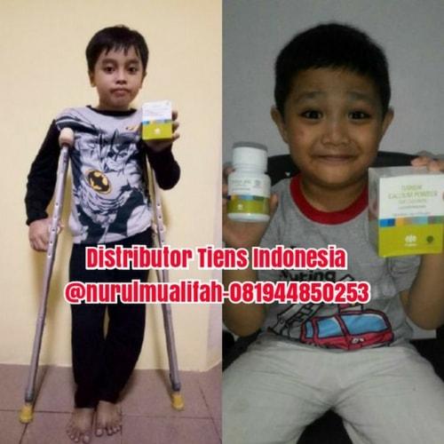 testimoni produk paket susu peninggi badan tiens untuk anak usia 2-11 tahun