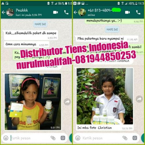 Harga Asli Promo Paket Peninggi Badan Tiens Untuk Anak Balita
