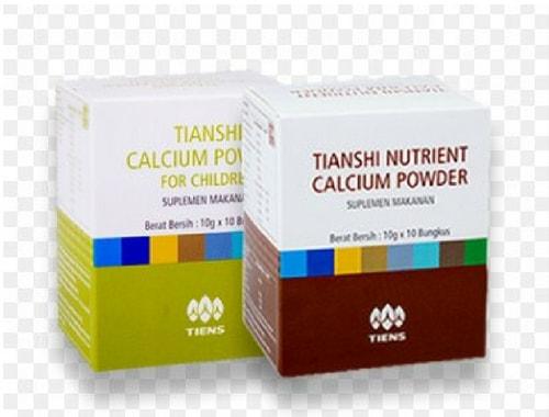 Review Singkat Produk Nutrient Calcium Powder Tiens Yang Asli
