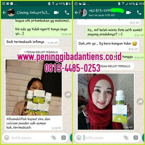Review Singkat Produk Nutrient Calcium Powder Tiens