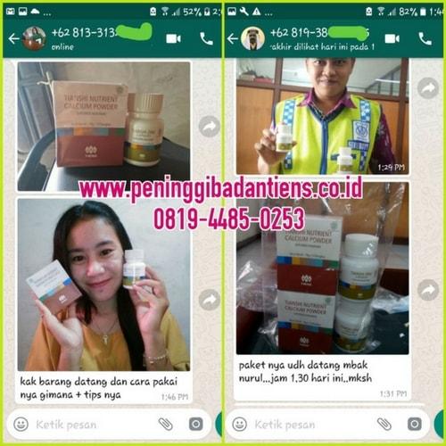Review Singkat Produk Nutrient Calcium Powder Tiens