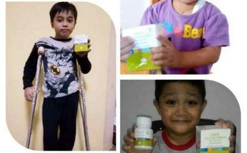 Bukti Foto Testimoni Paket Peninggi Badan Tiens Untuk Anak