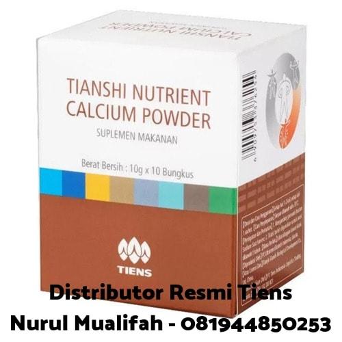 Nutrient high calcium powder