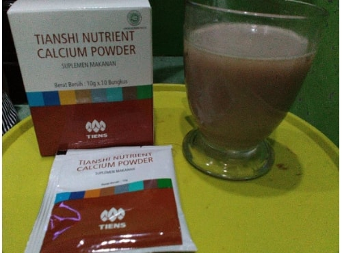 Nutrient high calcium powder