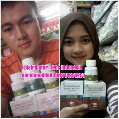 Paket Obat Peninggi Badan Susu Nhcp Dan Zinc Tiens Paket 30 Hari