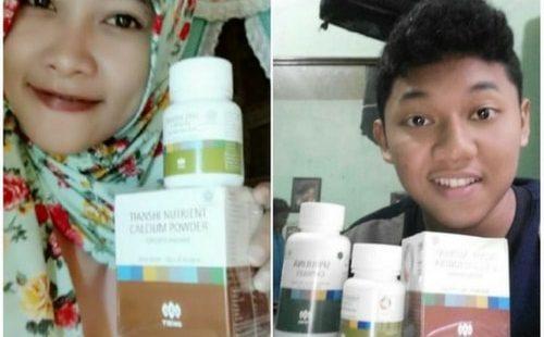 Jual Paket Obat Peninggi Badan Susu Nhcp Dan Zinc Tiens Paket 60 Hari