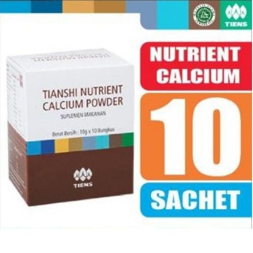 Nutrient high calicum powder