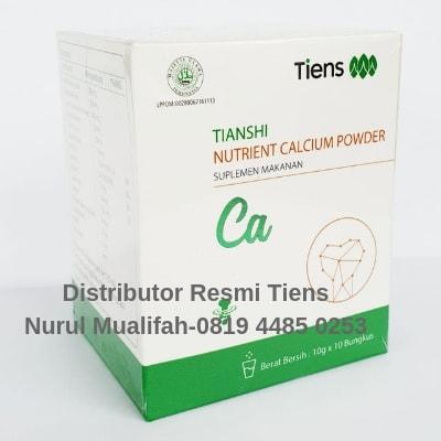 Nutrient High Calcium Powder Tiens (Susu Nhcp Tiens)