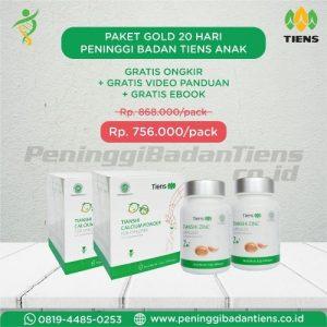 Paket Gold Obat Peninggi Badan Tiens Anak