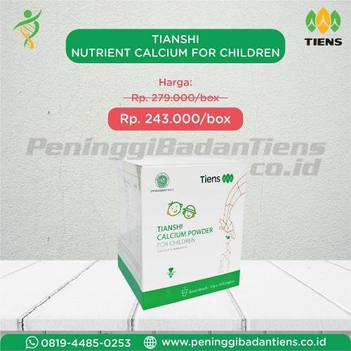 tianshi nutrient calcium for children