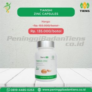 tianshi zinc capsules kemasan baru