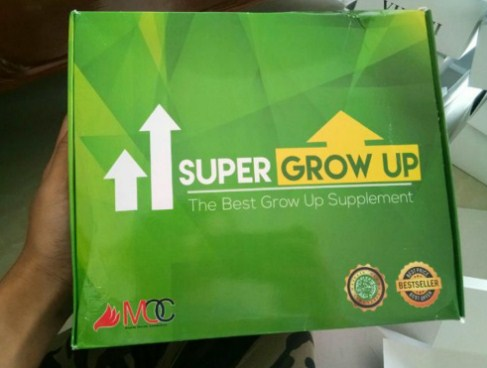 Penjelasan Produk Super Grow Up Hijau