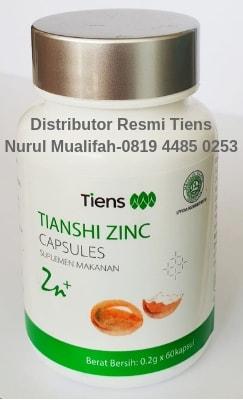 Produk zinc capsules tiens