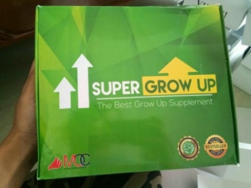 peninggi badan super grow up hijau vs tiens