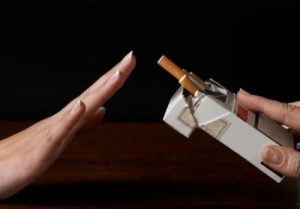 Mengurangi kebiasaan dalam merokok