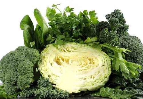 vitamin b2 pada sayuran hijau